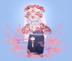 FLOWER TIGER ADOPTABLE (CLOSED)
