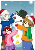 A KH Christmas by alichinorinoa