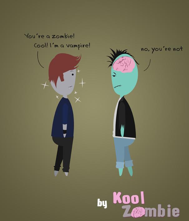 Kool vs Vampire by KoolZombie