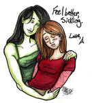 kim and shego - feel better