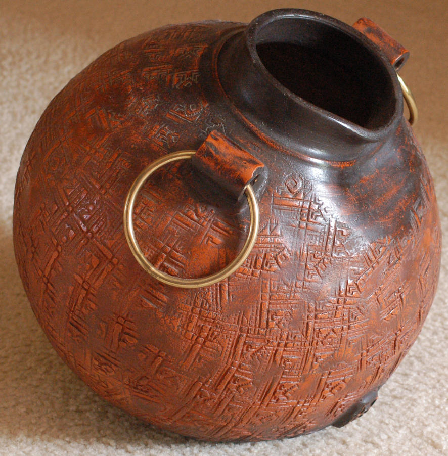 Clay pitcher