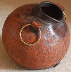 Clay Water Pitcher
