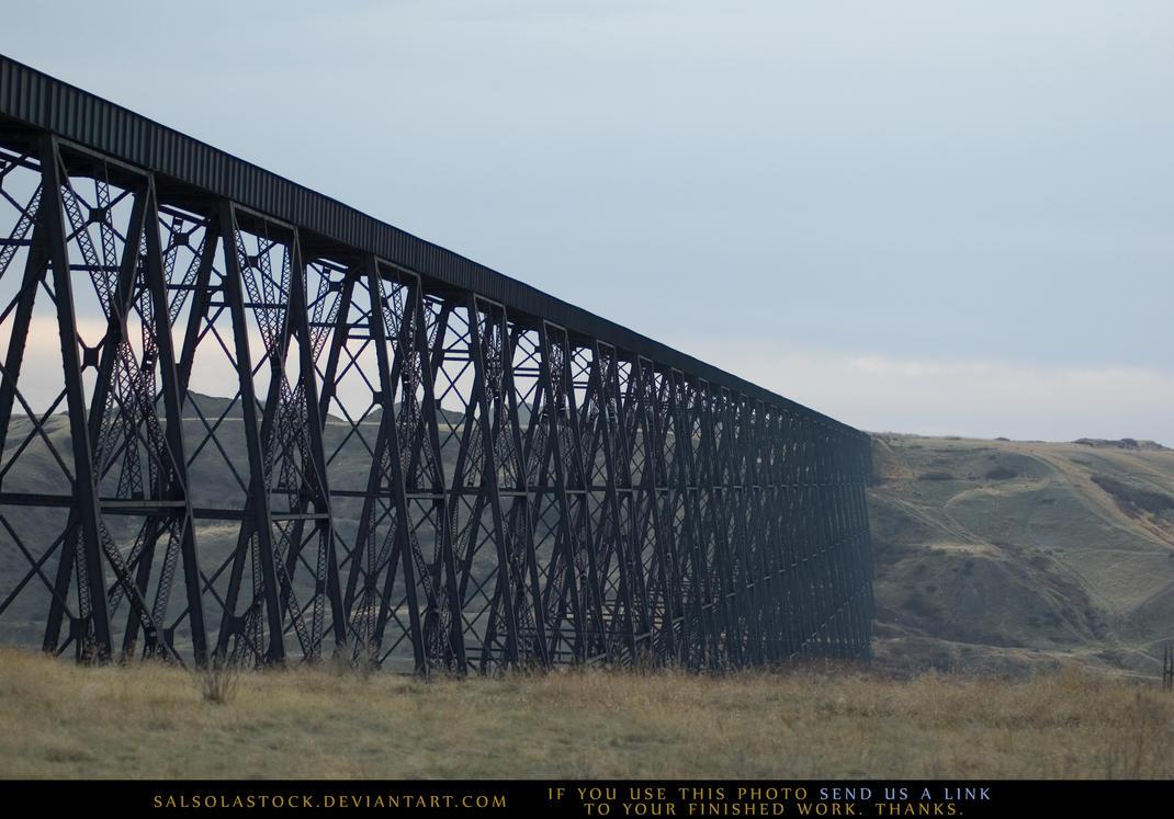 Train Bridge by SalsolaStock