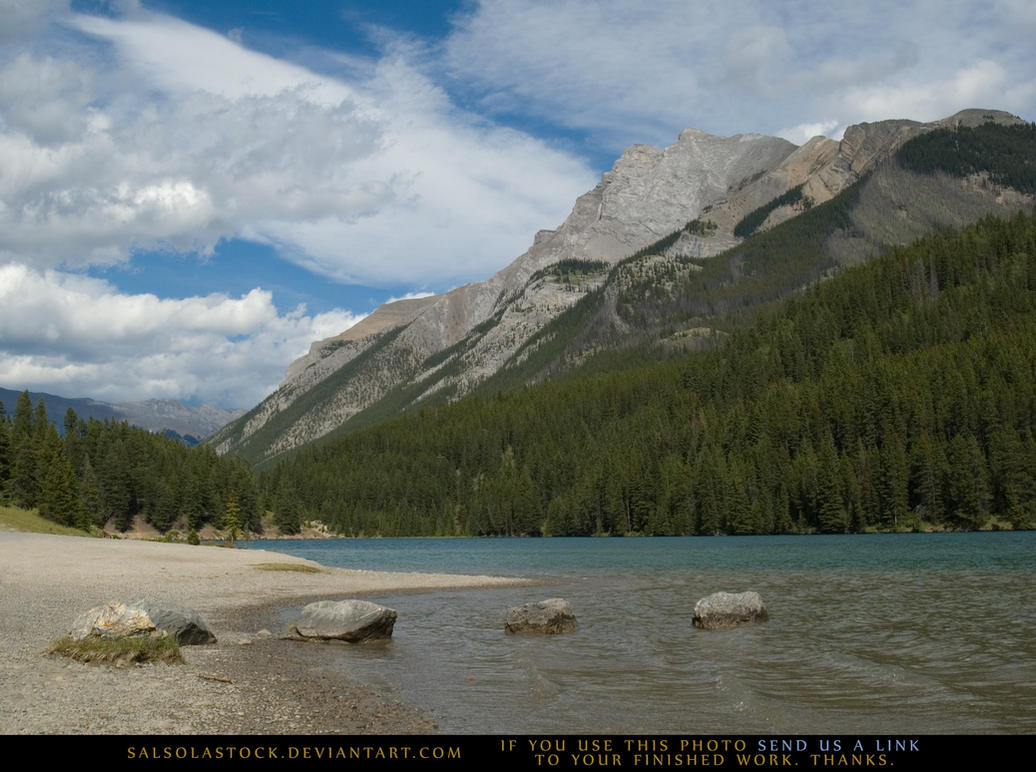 Mountain Lake 2 by SalsolaStock