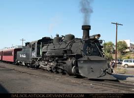 Steam Train 3 by SalsolaStock