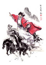 Chinese ink by 1ran