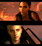 Jill and Sheva