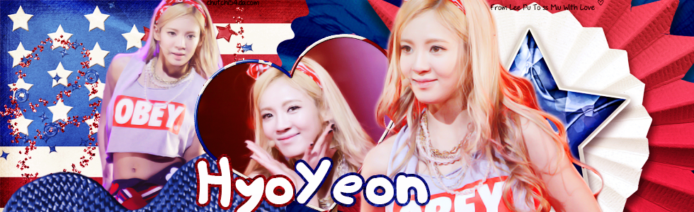 [25.08.13] HyoYeon - Gift For Sister Miu by chutchi54
