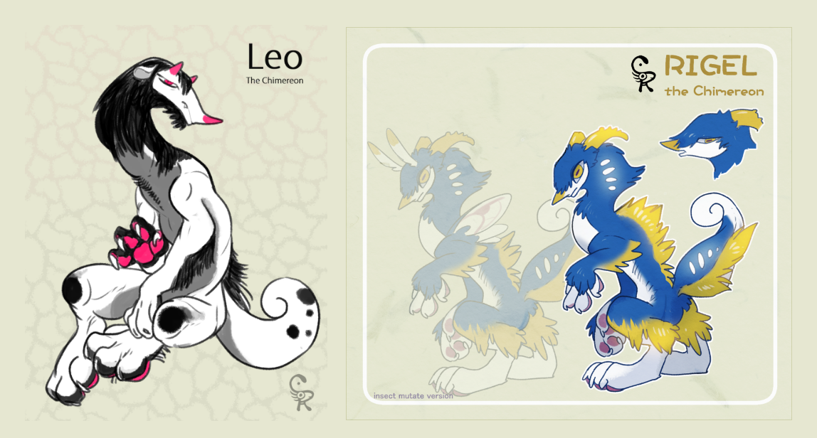 [Auction end] Rigel and Leo