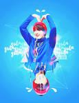 Blue Yuta by HyeonWoo (NCT Designs.)