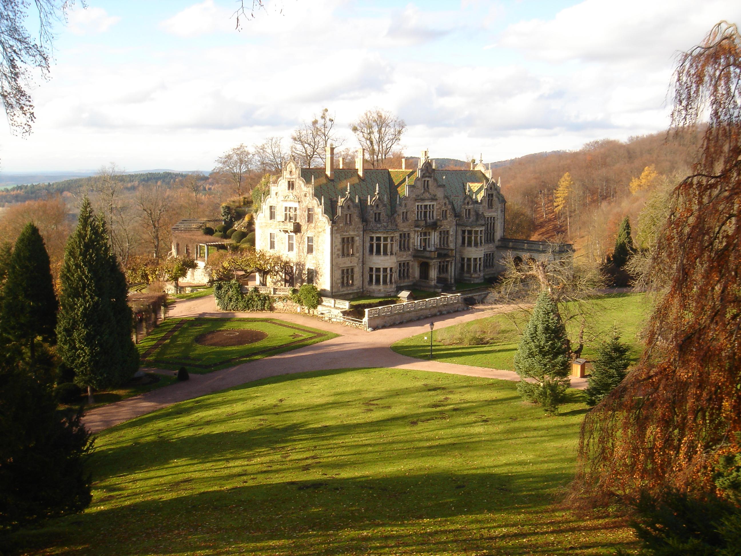 Altenstein - castle 8 by sacral-stock