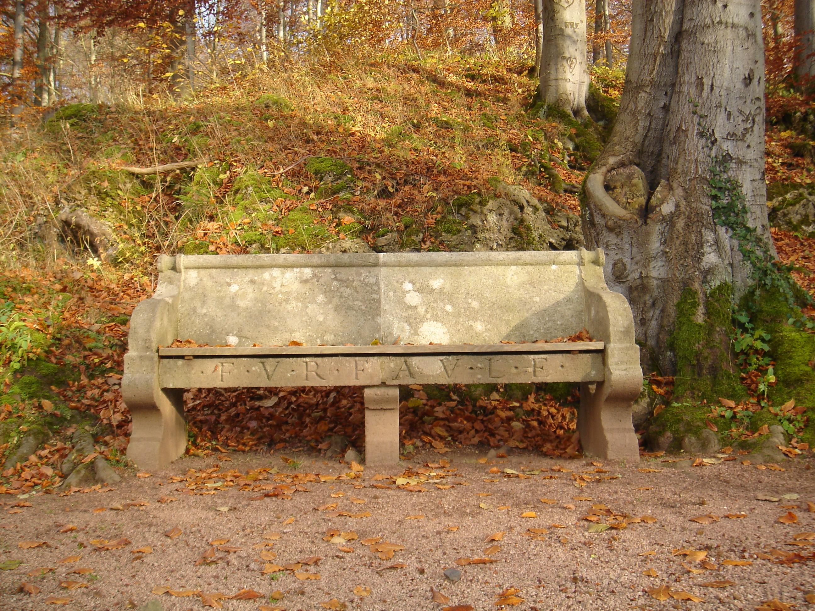 Altenstein - bench 2 by sacral-stock