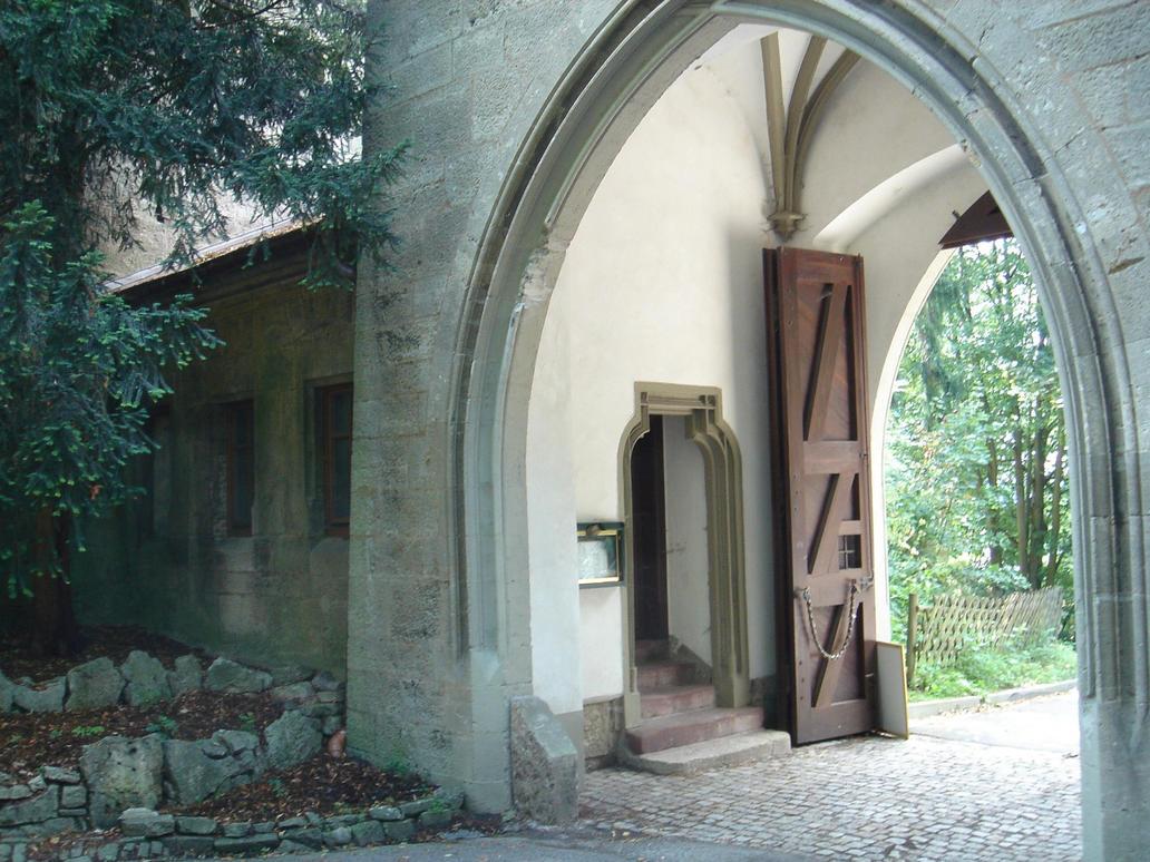 Schloss Landsberg - Gate 1 by sacral-stock