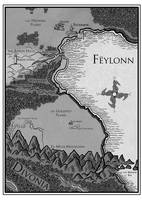 Map of Feylonn by YasminFoster