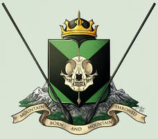 King Mortspear's Coat of Arms