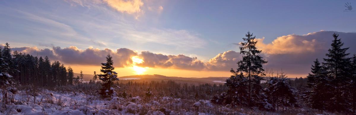 winter panorama by artmobe