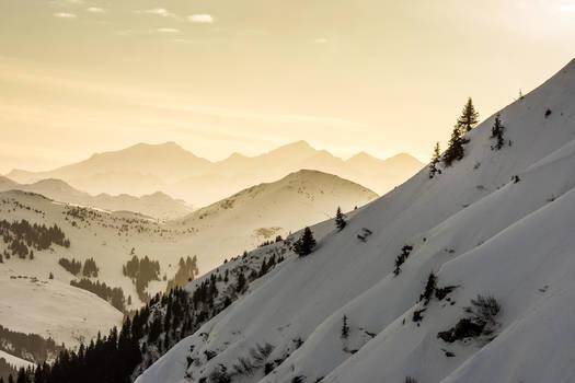 Mountains Glory