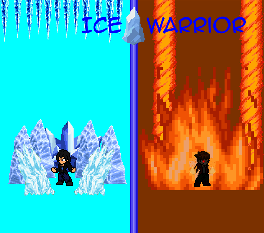 Warriors Fire And Ice Download: Ice Warrior Story Arc 1 Poster By Colemac45 On DeviantArt
