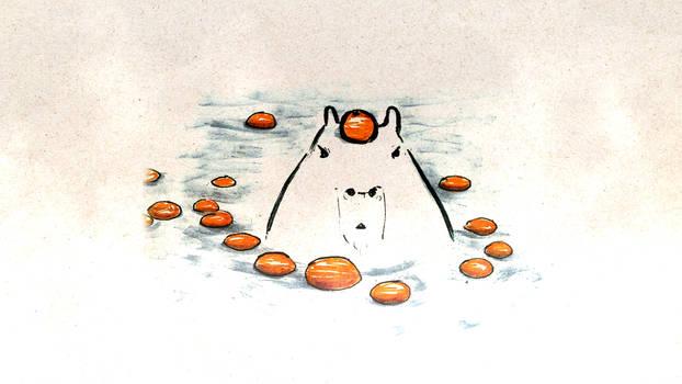 Capybara's Hot Bath