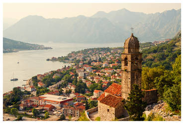 The Bay of Kotor III by DSent