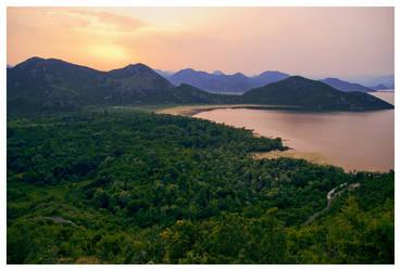 Lake Skadar by DSent