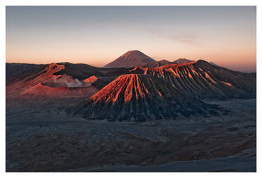 Mount Bromo by DSent