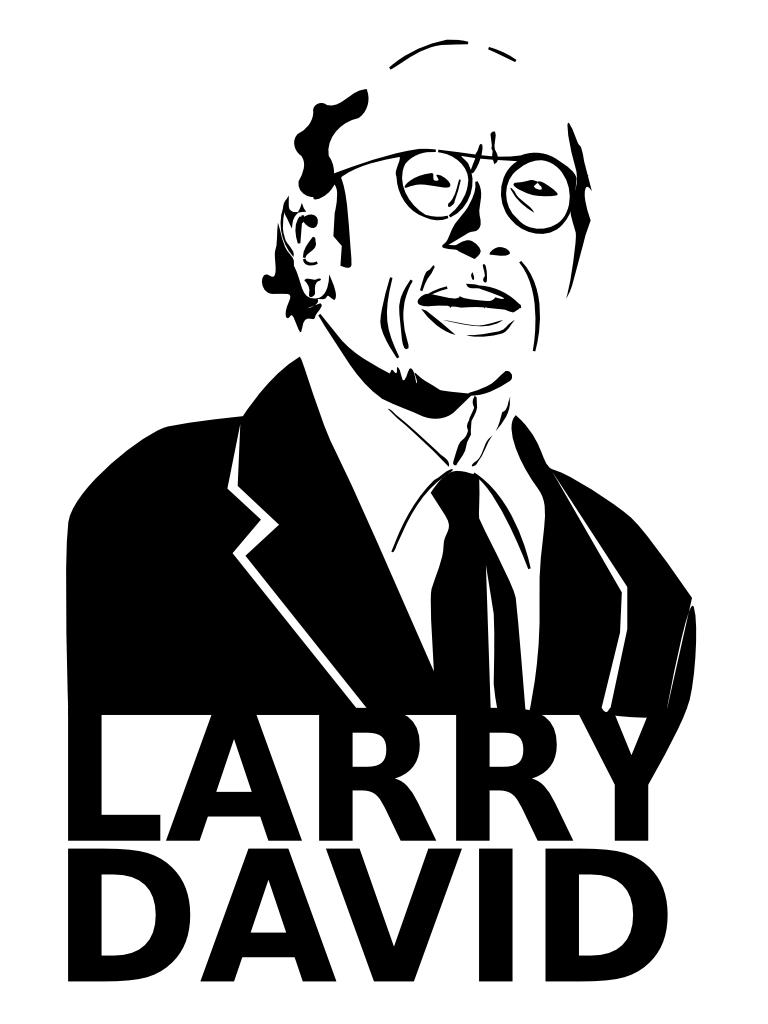 Larry David by erikhk