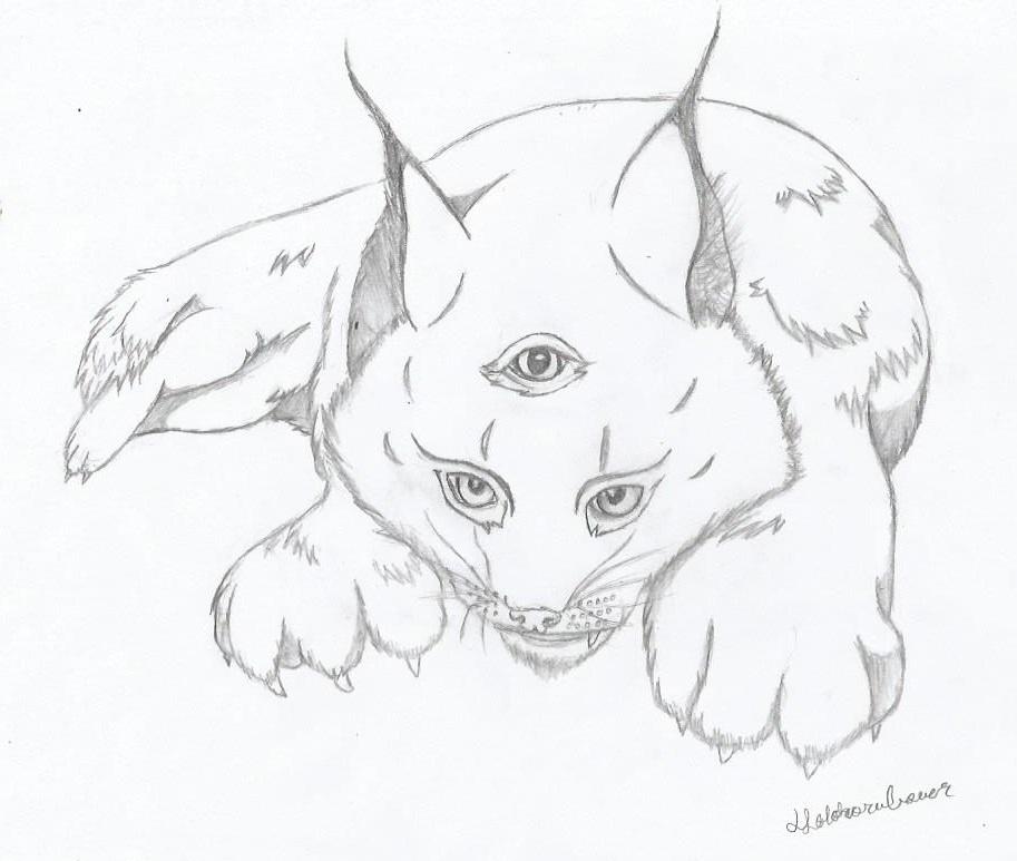 Laillia the Lynx by HotohoriLOVER