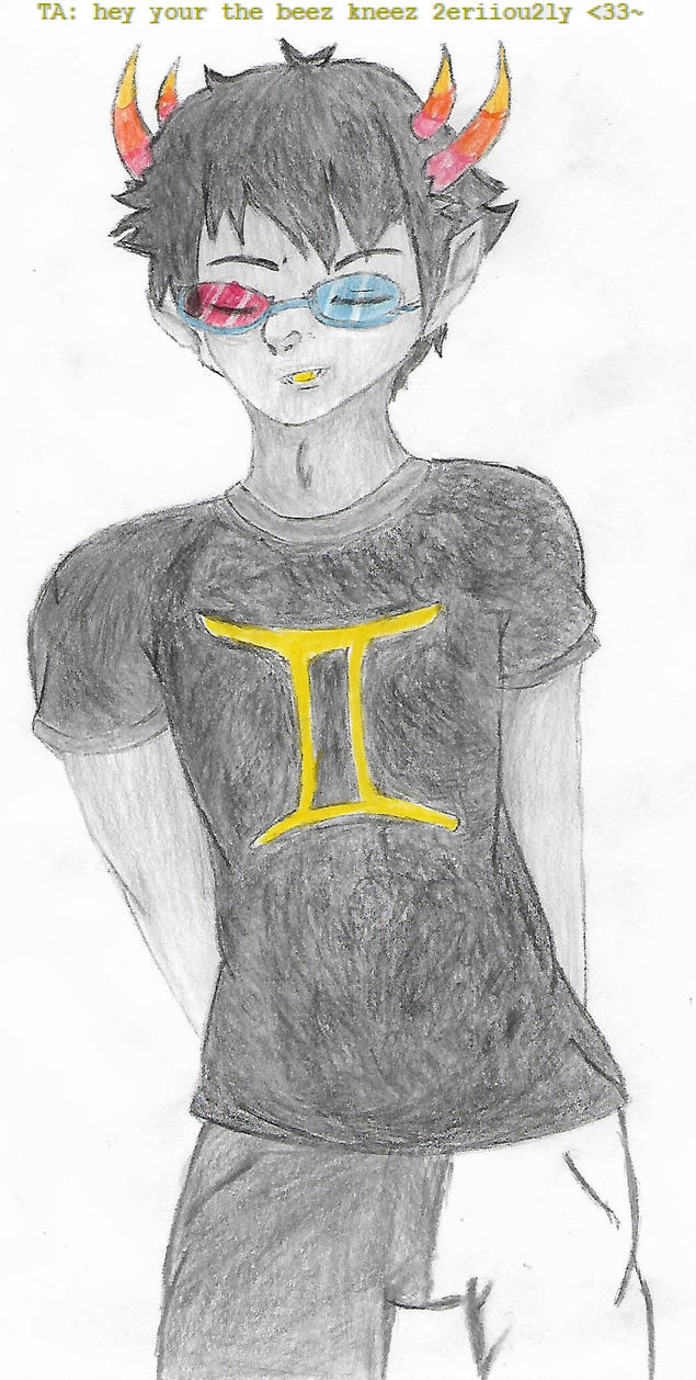 The Best Sollux I've Drawn in Like Ever by HotohoriLOVER