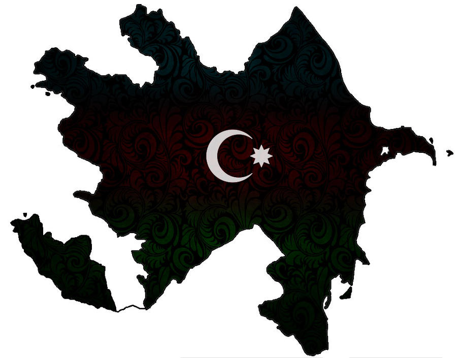 Azeri Xerite Bayraq by Xumarov