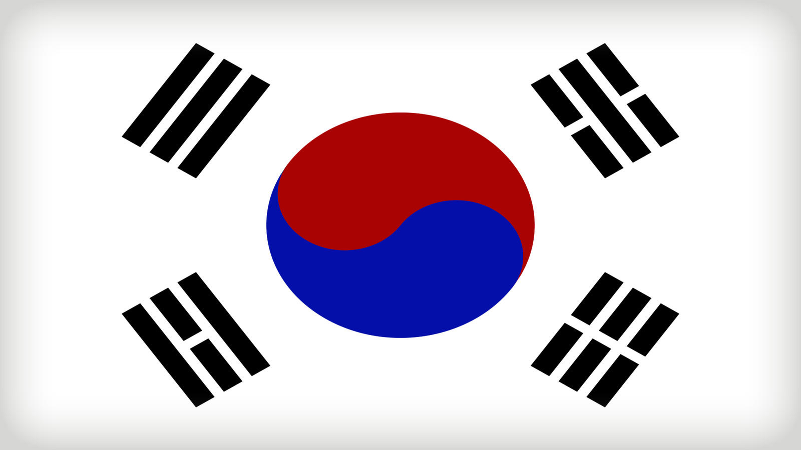 South Korea Flag by Xumarov