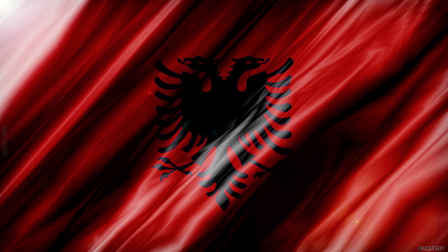 Awesome Albania Flag