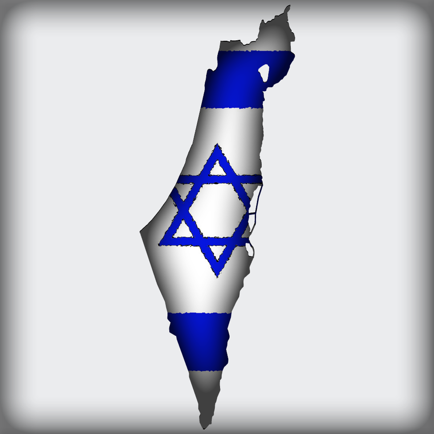 MapFlag Israel by Xumarov