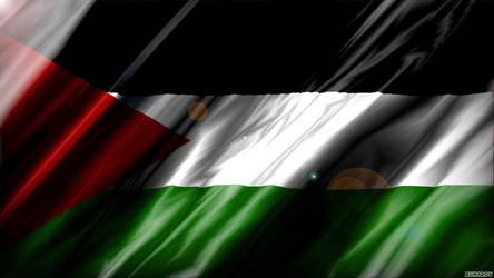 Palestine HD Flag