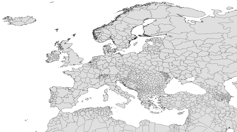 Europe Blank Map By Xumarov On DeviantArt - Europe blank map