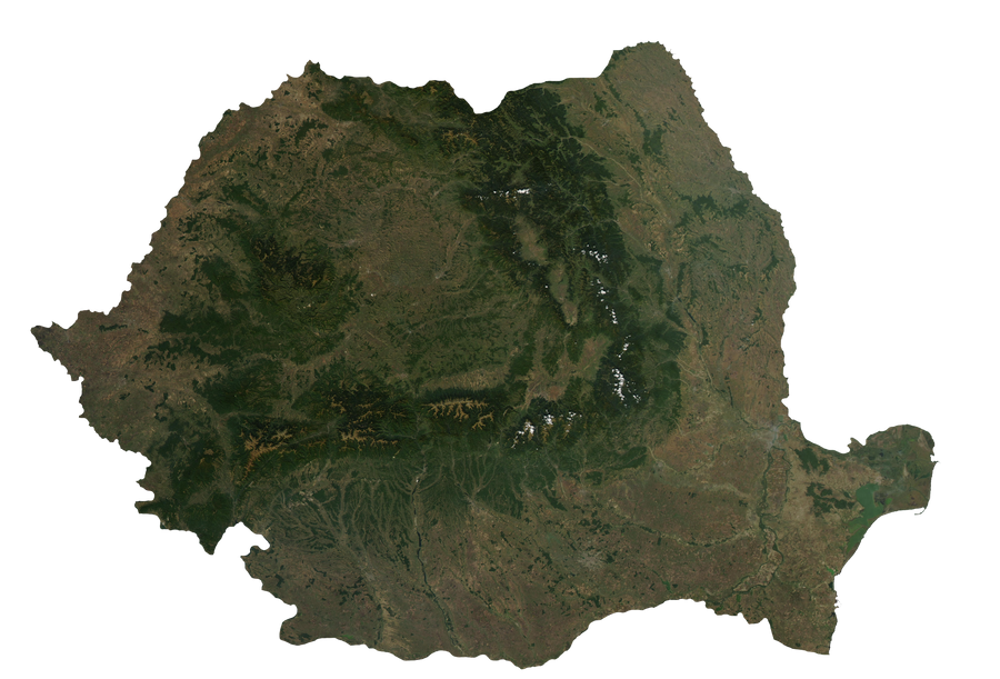 Romania Terra by Xumarov