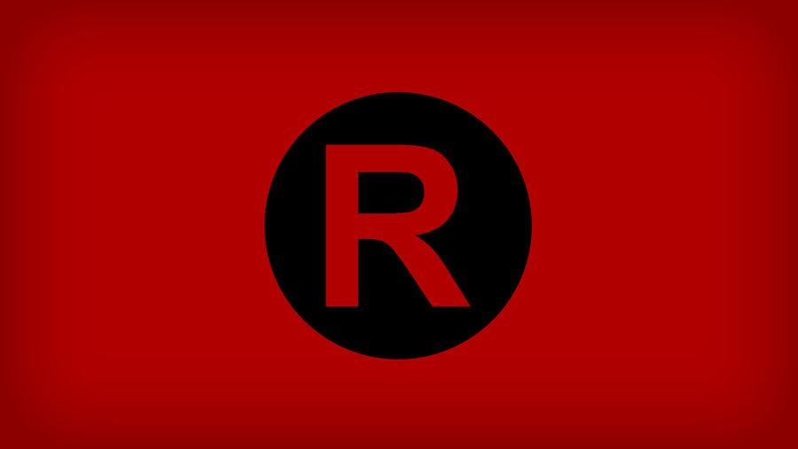Team Rocket Logo Flag