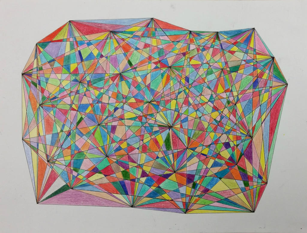 Rainbow Matrix by IridescentCatalyst