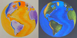 Inverted Earth Painting