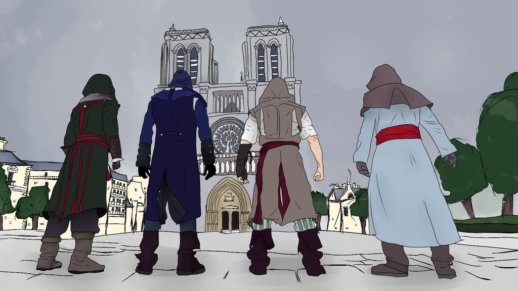 Assassin Creed Unity by yamichu