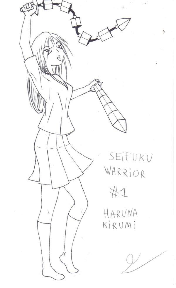 Seifuku warrior 1 by theobaldo51