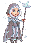 ice mage by Nymeria-pixels