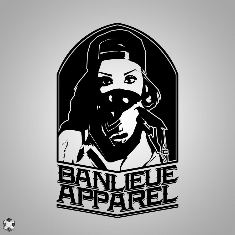 Banlieue Apparel The Bandana Logo/Shirt Design by DOPEPIXELZ on ...