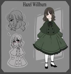 Black Butler Oc: Hazel Willburn by sirinu-chi