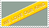 Yellow Band Stamp by aun61