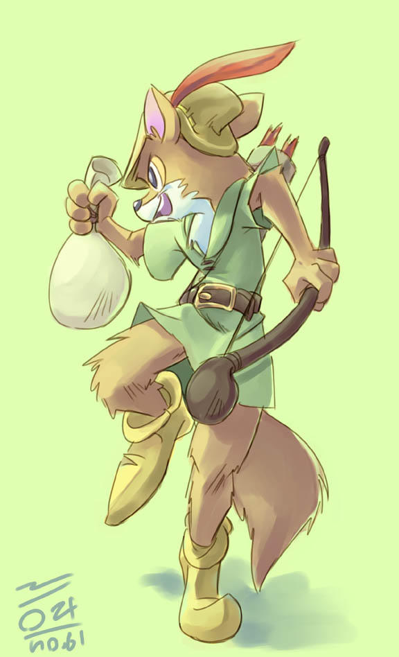 Robin Hood by aun61
