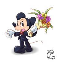 Mickey Mouse by aun61