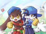 Klonoa - Red And Blue