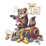 Don't give Raccoon the gun.