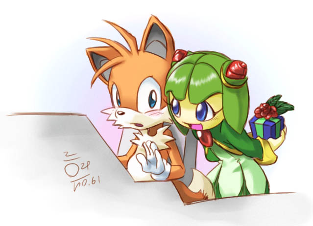 Tails + Cosmo by aun61
